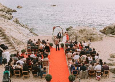 Girofestes - Casament a la platja