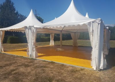 Girofestes - 4 haimes - zona cocktail i celebracio - Casament J&S