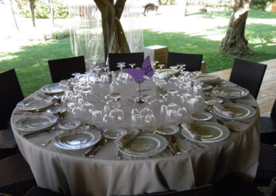 Girofestes - Parament de taula per casament.