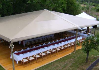 Girofestes - Carpa per a celebracions especials.