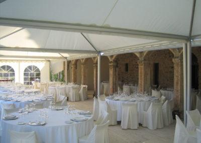 Girofestes - Parament de taula per a casaments.